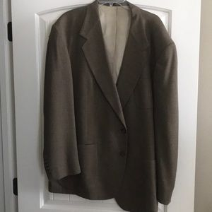 Men's Stafford two button sport coat size 46r